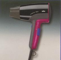 Braun PRSC1800 Hair Dryer for 220 volts
