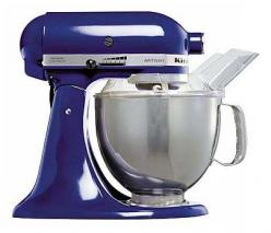 KITCHENAID 5KSM150PSEBU ARTISAN (COBALT BLUE) FOR 220 VOLTS Limited Offer! Over $100 worth accessories free with purchase!We include