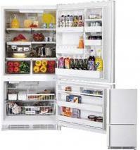 Amana 21 CFT BX521VCPWR Bottom Freezer Refrigerator for 220/240 Volts