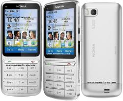 NOKIA C3-01 TOUCH AND TYPE QUAD BAND 3G HSDPA  WIFI 5MP CAMERA UNLOCKED GSM MOBILE PHONE