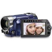 Canon FS-100 Flash Memory Camcorder (Saphire Blue)