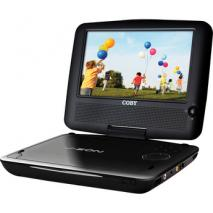 COBY TF-DVD8509 REGION FREE PORTABLE DVD PLAYER FOR 110-240 VOLTS