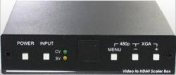 AT-AVS-HDMI  Video / S-Video + Analog Audio to HDMI PAL,NTSC, VIDEO  Converter