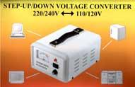 100 WATTS TC-100D DELUXE VOLTAGE TRANSFORMER STEP UP AND STEP DOWN FOR WORLD WIDE USE with regulator/deluxe