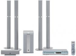 Yamaha DVXS302 MULTI-SYSTEM CODE FREE with 4 Tower speakers 110/240VOLTS