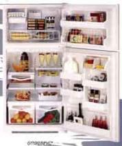 Maytag GTG-2123 220 Volt 21 Cf. Top Mount Refrigerator