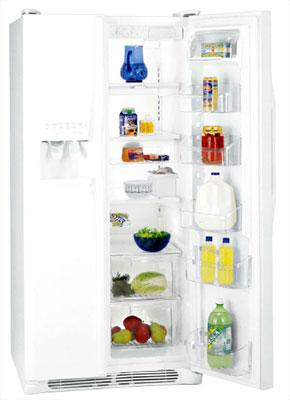 Frigidaire 28 CFT GPSZ28V8A Side by Side Refrigerator for 220/240 volts