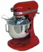 KITCHENAID 5KSM5EER HEAVY DUTY MIXER FOR 220 VOLTS (EMPIRE RED)