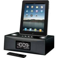 iHome iD84 App-Enhanced Dual Alarm Clock AM/FM Radio for iPad/iPhone/iPod