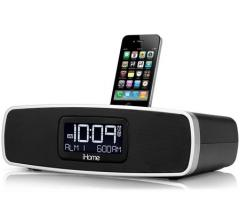 I-home IP90 TRAVEL ALARM CLOCK FOR IPOD FOR 110-240 VOLTS