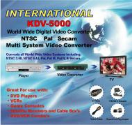 CDM630 CDM-630 Digital Video Format Converter for worldwide use