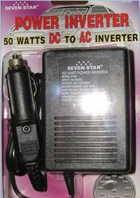 Seven Star PI50 50 Watt DC to AC Power Inverter