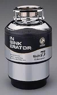 in sink erator 75 hp model75 garbage disposal for 220 volts. beautiful ideas. Home Design Ideas