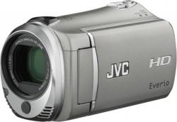 JVC Everio GZ-HM330 HD Memory PAL Camcorder (SILVER)