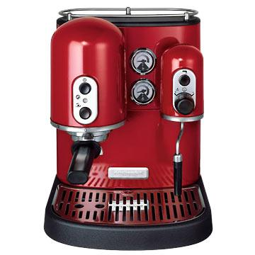 KitchenAid 5KES100EER Pro-Line Espresso Machine - Empire Red