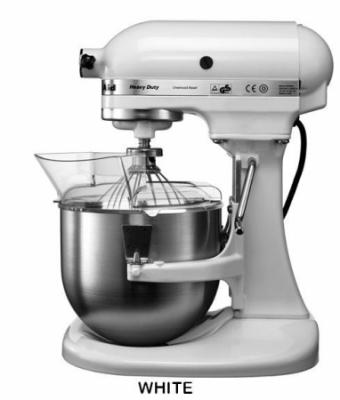KitchenAid 5KPM50EWH Pro-Line Heavy Duty Lift Bowl Mixer (White)