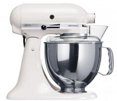 KitchenAid 5KSM150PSEWH Artisan (WHITE) FOR 220 VOLTS