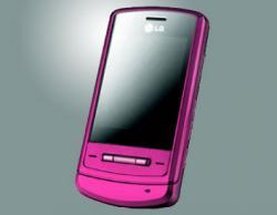 LG KE970 SHINE PINK TRIBAND UNLOCKED GSM PHONE