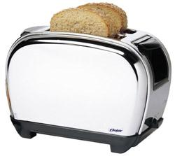 Oster 3807 Chrome Toaster for 220 volts