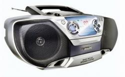 PHILIPS AZ1310 PORTABLE SOUND SYSTEM for 220 volts