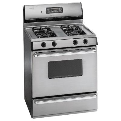Maytag Magic Chef CBR3765AGC Self Cleaning Gas Range for 220 Volts