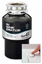 In-Sink-Erator 0.65HP MODEL65 Garbage disposal for 220 volts