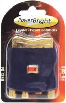 Powerbright PB1360 Scart Adapter - Input / Output