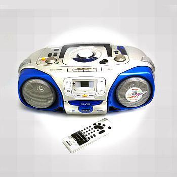 Sanyo Mcd V99m Vcd Cd Stereo Radio Cassette Recorder 220