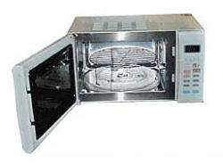GE JEI872 free standing microwave oven with Grill FOR 220 VOLTS