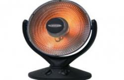 SOLEUS AIR MS-09 RADIANT HEATER WITH OSCILLATING CARRYING HANDLE(FOR USA)