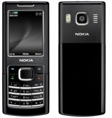 NOKIA 6500 UNLOCKED QUAD BAND black Classic PHONE sim free