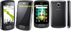 LG OPTIMUS ONE P500 QUAD BAND ANDROID UNLOCKED GSM MOBILE PHONE