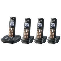 Panasonic KX-TG6434 Cordless Phone for 110-240 Volts