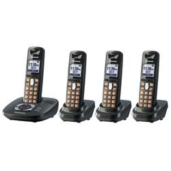 Panasonic KX-TG6434 Cordless Phone for 110-240 Volts