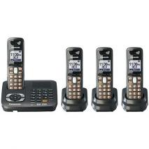 Panasonic KX-TG6444T CORDLESS PHONE 110-240 VOLTS