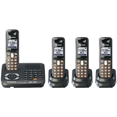Panasonic KX-TG6444T CORDLESS PHONE 110-240 VOLTS
