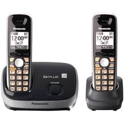 Panasonic KX-TG6512B Dect 6.0 Expandable Digital Cordless Phone for 110-240 Volts