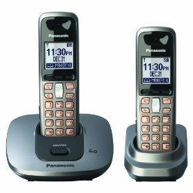 PANASONIC KXTG-6412 TWIN CORDLESS PHONE FOR 110-240 VOLTS