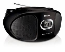 Philips AZ302 CD/MP3 Soundmachine  for 110- 240 volts