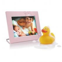 Philips 7-inch 2107 Pink color Digital Photo frame