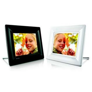 Philips 7-inch (16:9) Digital Photo frame (White)