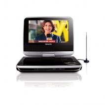 Philips PET739 region  free Portable DVD player with TV Tuner for 110-240  Volts WITH usb