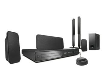PHILIPS HTS-3566D ALL REGION CODE FREE HOME THEATER SYSTEM