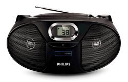 PHILIPS AZ382 with USB AND mp3  for 110 to 240 volts