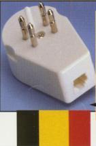 Belgium Phone Jack/adapter