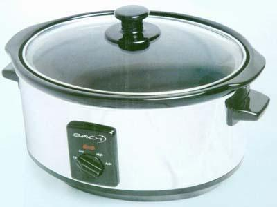 Saachi SA1320 5.5 Liter Slow Cooker for 220-240 Volts