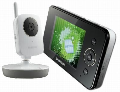 Samsung Wireless Video Security Monitoring System for 110-240 Volts