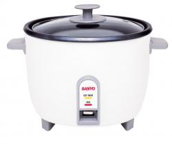 Sanyo EC-510 10-Cup Rice Cooker & Steamer for 110 Volts