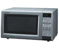 Sharp R758K 220-240 Volt Grill Microwave Oven