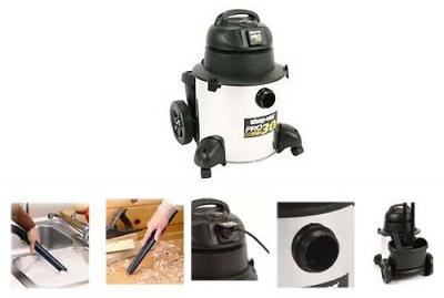 ShopVac E2607 Wet & Dry Vacuum for 220 Volts